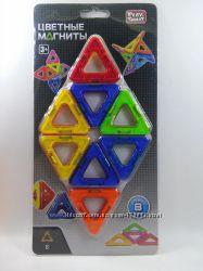 Магнитный конструктор Play Smart 8 деталей