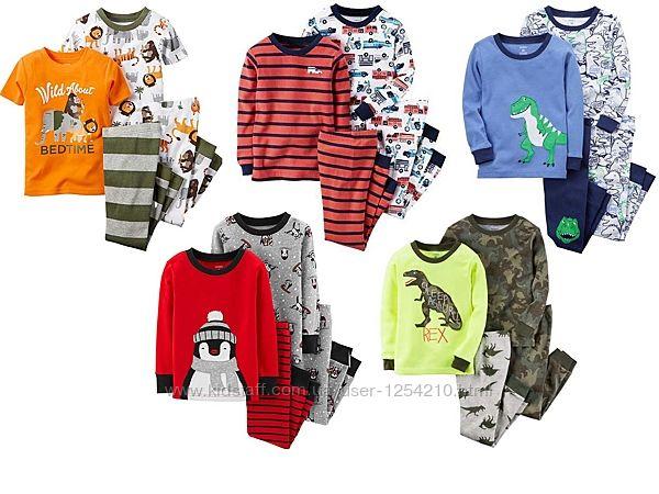Пижамы Carters на мальчика 12мес -7лет