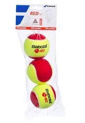 Мячи теннисные для детей BABOLAT Red Felt X3 Франция