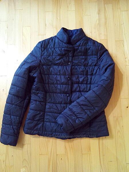 Супер куртка на весну, Іспанія, чорного кольору, легка, на синтепоні, р. М-Л
