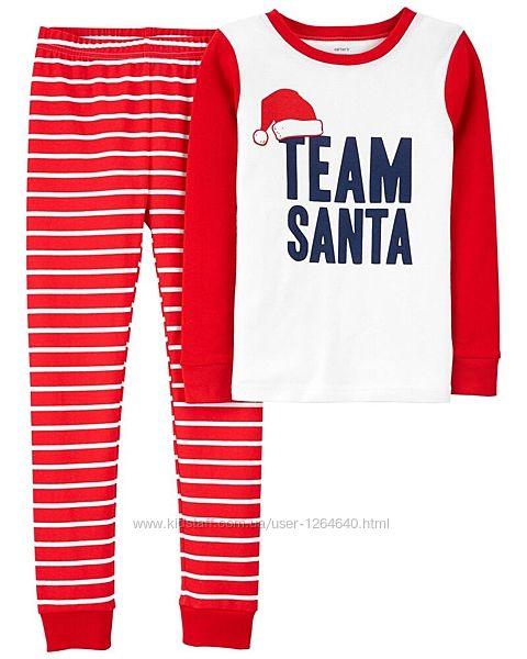 Продам новые пижамки Children Place, Carters р. 2-12л.