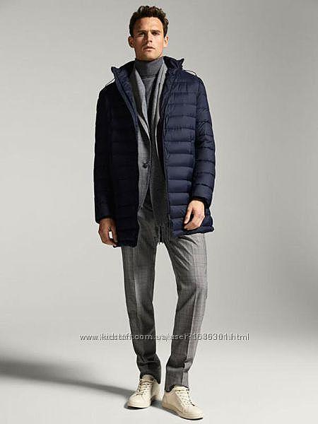 Невесомая куртка-пуховик для стильного мужчины massimo dutti