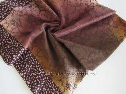 Шерстяные платки с узором осень-зима