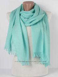 Однотонные шарфы-палантины разные расцветки