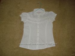 Блуза школьные на 10-11 лет