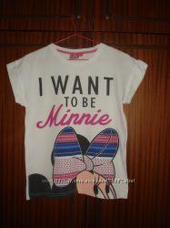 футболки с Минни