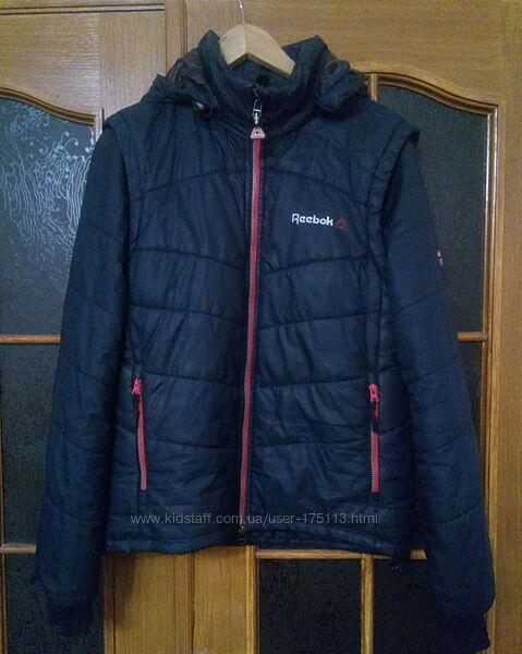 Демисезонная куртка для мальчика 164-170 см. Reebok б/у
