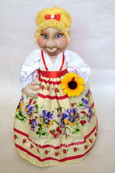 как сшить одежду для куклы на чайник для
