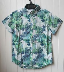 Стильная рубашка Next, размер 6 лет, 116-122 см