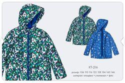 Утепленные куртки Бемби р. 104-146