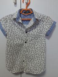 Рубашка george на 5-6 лет в якорях
