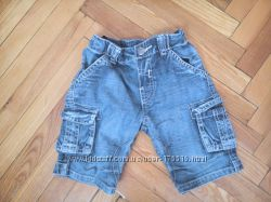 Джинсовые шорты на мальчика.