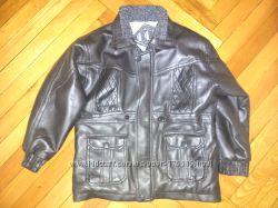 курточка под кожу на меху