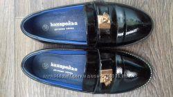 туфли лаковые черные