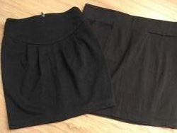 юбки черные трикотажные