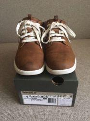 Ботинки Timberland на мальчика демисезон натуральная кожа 36 стелька 23, 5с