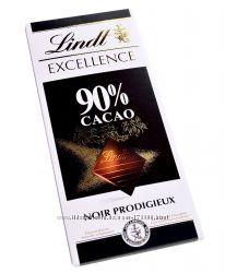 Lindt Excellence 90 Какао. Швейцария 100g