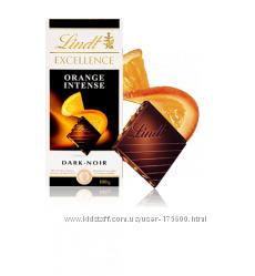 Lindt Excellence Апельсин.  Швейцария. 100g