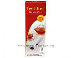 Фильтры для чая Teefilter f&uumlr losen Tee 100 шт.