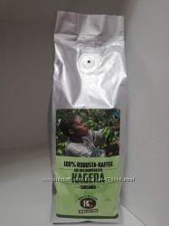 Зерновой кофе Bertschi. Танзания. Швейцарская обжарка 100 робуста 250g