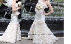 Шикарое свадебное платье-эксклюзив