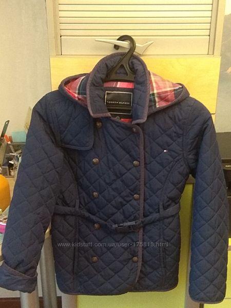 Демисезонная куртка на девочку 10-12 лет