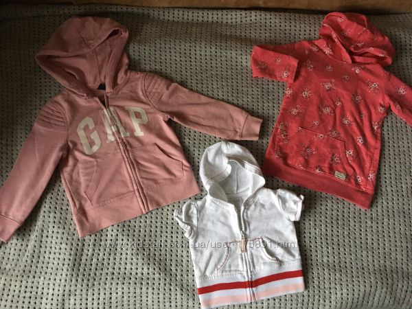 Спортивный костюм и кофты на девочку