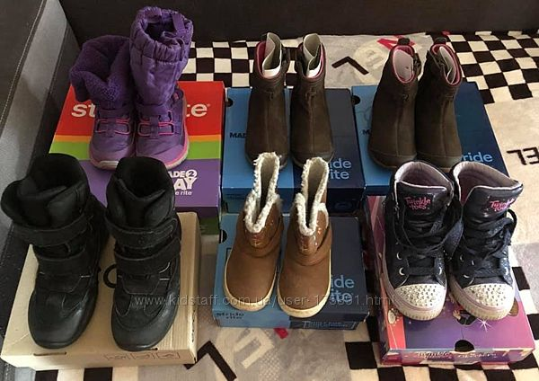 Зимняядеми обувь на девочку