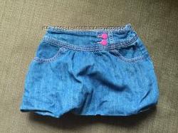 Продам джинсовую юбку Crazy8 размер 2 года