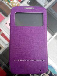 Чехол книга с окошком Lenovo Vibe Shot звоните мтс-0