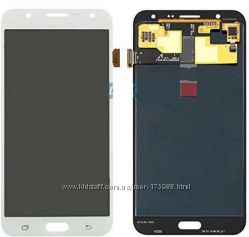 Samsung Galaxy J7 дисплей LCDTouch золото белый черный Подбор аксессуаро