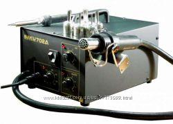 BAKU BK-702A - это мощная термовоздушная паяльная станция, которая создана