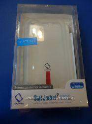 Чехлы накладки для HTC силиконовые В наличии