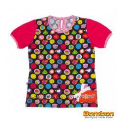 Модная футболка для девочек красивенькая