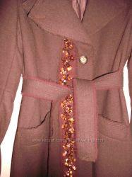 Стильное демисезонное пальто фирмы MEXX
