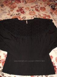 Шикарная шелковя блузка