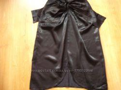 Стильная юбка из атласа