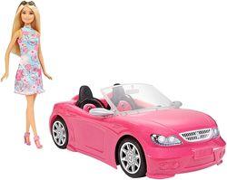 Barbie кукла Барби и гламурный кабриолет Convertible and Doll Pack