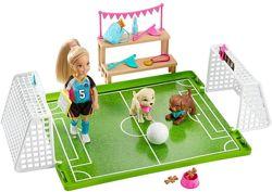 Barbie Барби Футбольная команда Челси Chelsea Football Playset GHK37