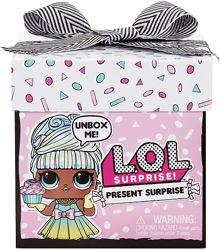 ЛОЛ Сюрприз подарочная серия Игровой набор с куклой Present Surprise