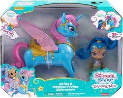 Кукла Шайн с интерактивным единорогом Shimmer and Shine Magical