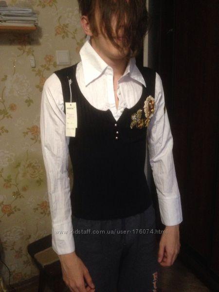 Блузка С Жилеткой В Самаре