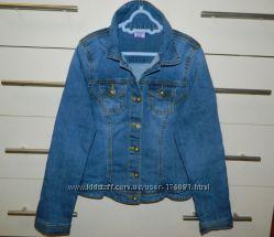 джинсовая куртка F&F р. 10-11 лет