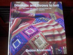 Вязание ярких пледов спицами. Книга со схемами и фото.  12 идей.