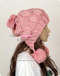 Стильная шапка универсального размера