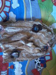 легкий кружевной шарфик