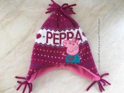 Новая шапка на 1-2года с Peppa