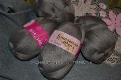 Распродажа ниток для вязания спицами