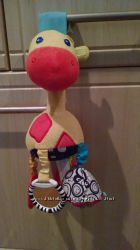 Іграшка на коляску BRIGHT STARS жираф, бу, стан на 4, можливо трішки змінив
