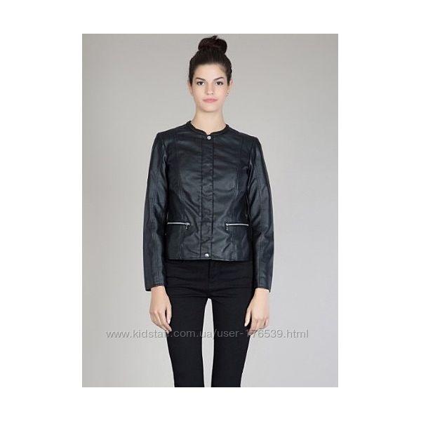 Новая кожаная куртка фирма Colins